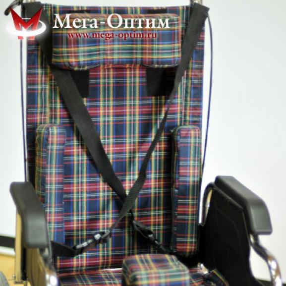 Детская инвалидная коляска для детей больных ДЦП Мега-Оптим Fs 203 bj - фото №11
