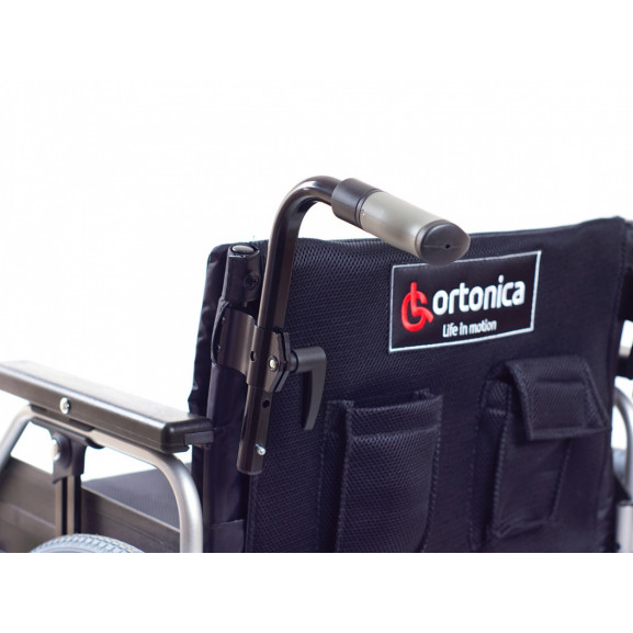 Инвалидное кресло со складной рамой Ortonica Trend 10 Xxl - фото №23