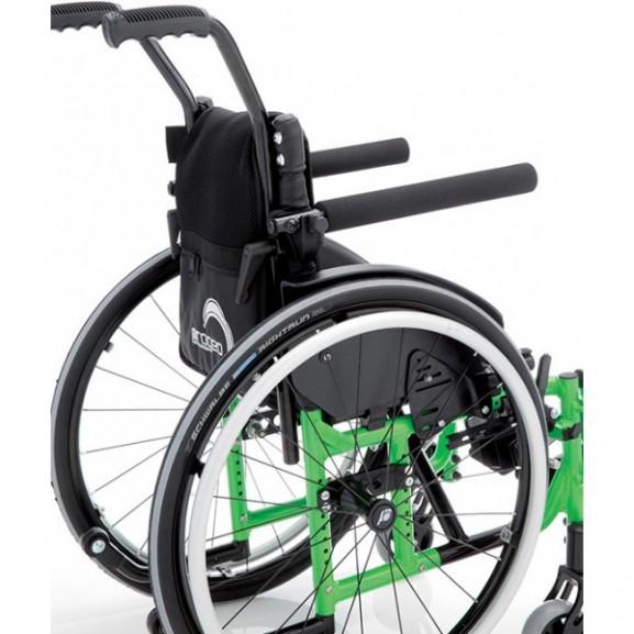 Кресло-коляска с ручным приводом активного типа Progeo Junior Light - фото №3