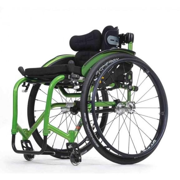Кресло-коляска активная (спортивная) механическая с приводом от обода колеса Vermeiren Sagitta - фото №3