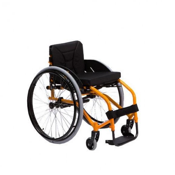 Кресло-коляска активная (спортивная) механическая с приводом от обода колеса Vermeiren Sagitta - фото №1