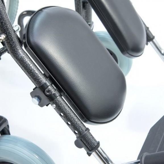 Кресло-коляска инвалидная механическая с высокой спинкой Мега-Оптим 514 А - фото №9