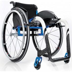 Кресло-коляска с ручным приводом активного типа Progeo Noir