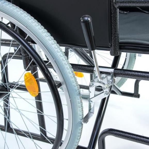 Кресло-коляска инвалидная механическая с высокой спинкой Мега-Оптим 514 А - фото №7