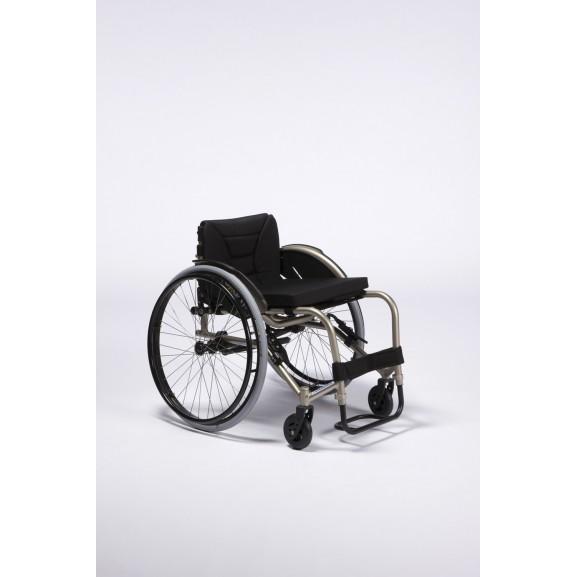 Кресло-коляска активная (спортивная) механическая с приводом от обода колеса Vermeiren Sagitta - фото №2