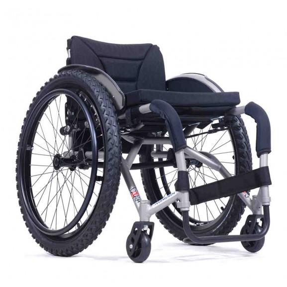 Кресло-коляска активная (спортивная) механическая с приводом от обода колеса Vermeiren Sagitta - фото №5