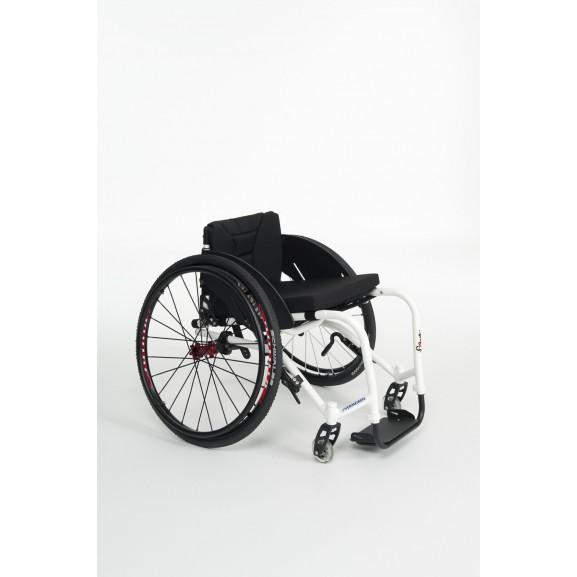 Кресло-коляска активная (спортивная) механическая с приводом от обода колеса Vermeiren Sagitta - фото №4