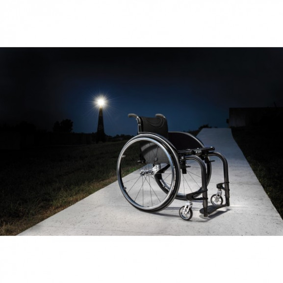 Кресло-коляска с ручным приводом активного типа Progeo Tekna Advance Carbon - фото №3