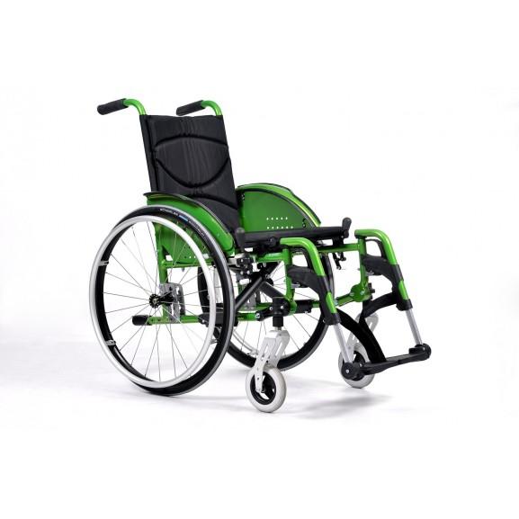 Кресло-коляска инвалидное механическое Vermeiren V200 Go - фото №2
