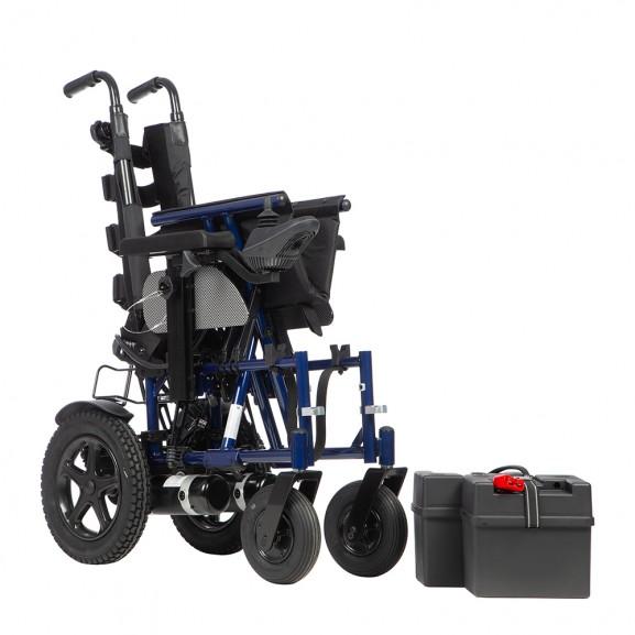 Инвалидная электрическая кресло-коляска Ortonica Pulse 150 - фото №10