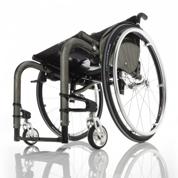 Кресло-коляска с ручным приводом активного типа Progeo Tekna Advance Carbon - фото №2