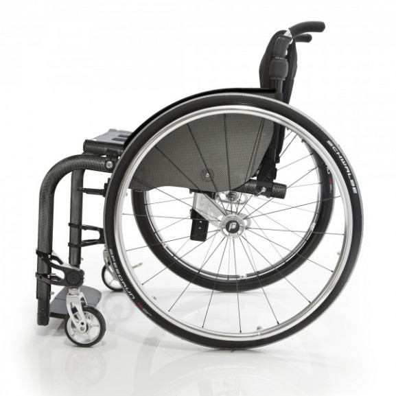 Кресло-коляска с ручным приводом активного типа Progeo Tekna Advance Carbon - фото №1