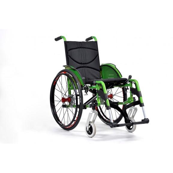 Кресло-коляска инвалидное механическое Vermeiren V200 Go - фото №3