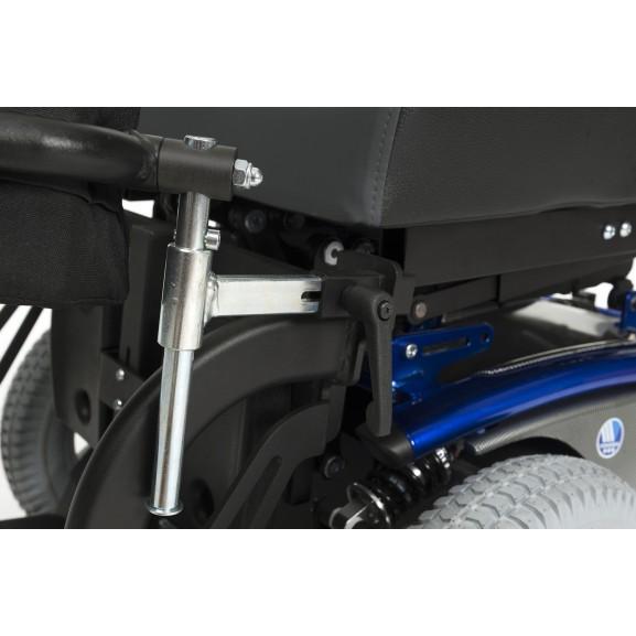 Кресло-коляска электрическая вертикализатор Vermeiren Timix Su - фото №4