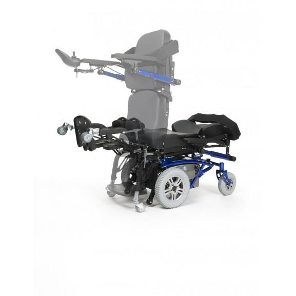 Кресло-коляска электрическая вертикализатор Vermeiren Timix Su - фото №3