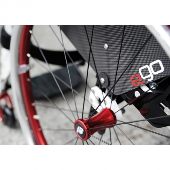 Кресло-коляска с ручным приводом активного типа Progeo Ego - фото №12