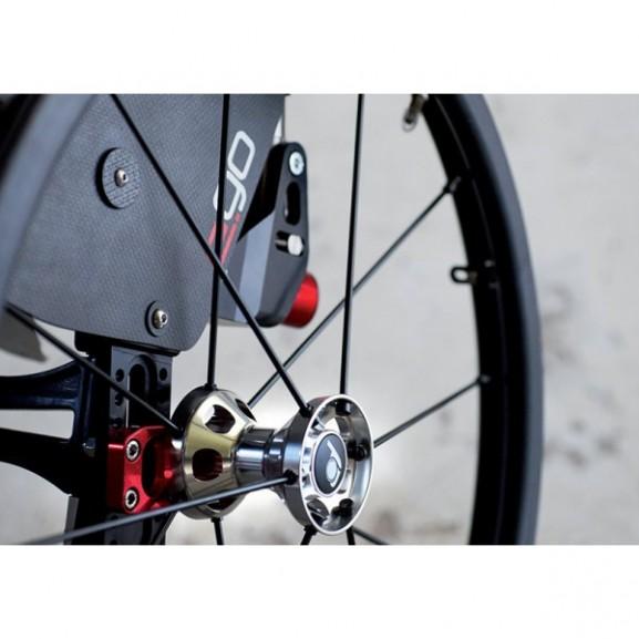 Кресло-коляска с ручным приводом активного типа Progeo Ego - фото №15