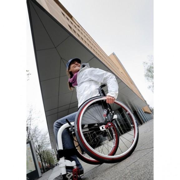 Кресло-коляска с ручным приводом активного типа Progeo Ego - фото №13