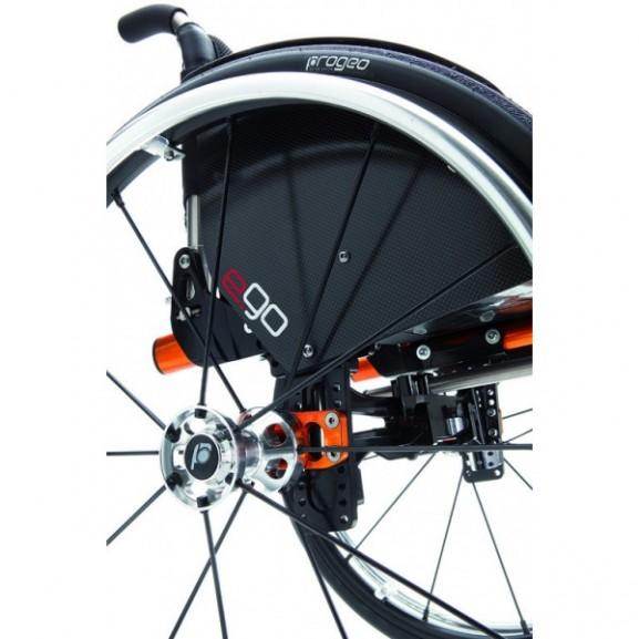 Кресло-коляска с ручным приводом активного типа Progeo Ego - фото №1