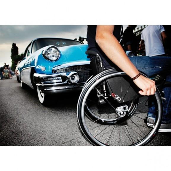 Кресло-коляска с ручным приводом активного типа Progeo Ego - фото №18
