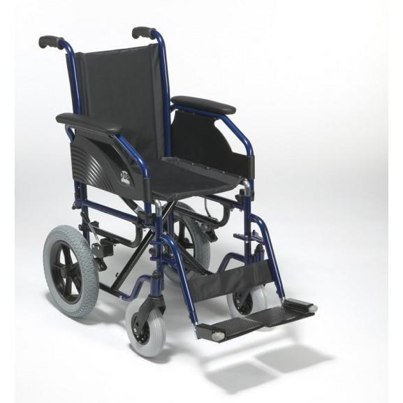 Кресло-коляска складная с ручным приводом Vermeiren 708d - фото №3