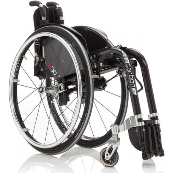 Кресло-коляска с ручным приводом активного типа Progeo Ego - фото №9