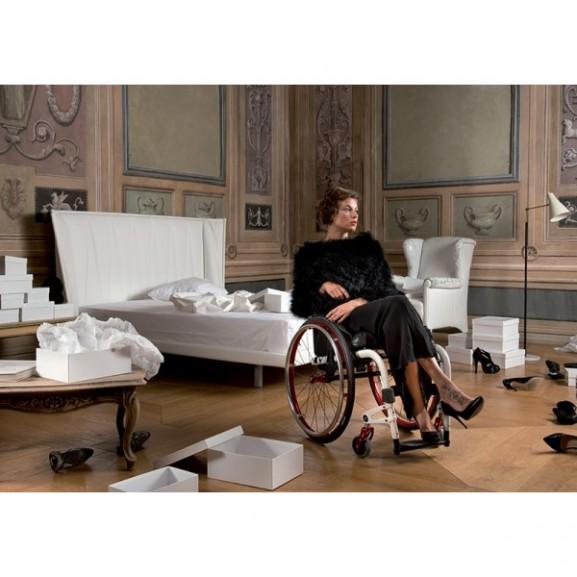 Кресло-коляска с ручным приводом активного типа Progeo Joker - фото №5