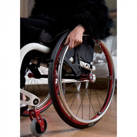 Кресло-коляска с ручным приводом активного типа Progeo Joker - фото №4