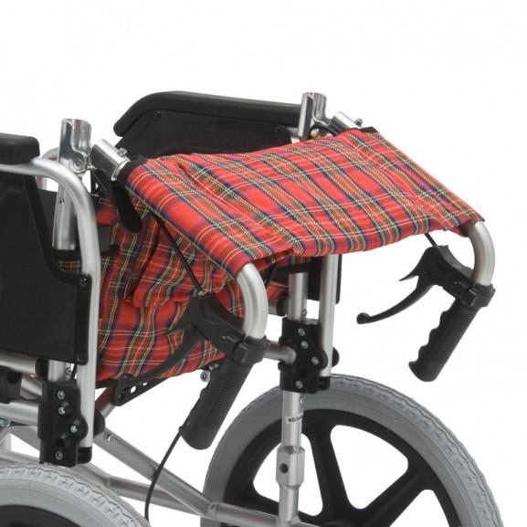 Инвалидное кресло-каталка облегченная Мега-Оптим Fs907labh - фото №10