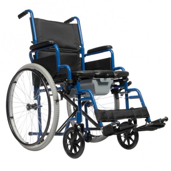 Активный кресло-стул с санитарным оснащением Ortonica Tu 55