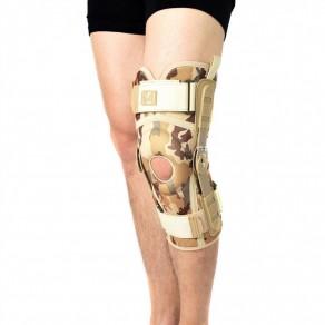 Ортез коленного сустава с боковыми шинами и регулировкой подвижности Reh4Mat 4army-sk-02