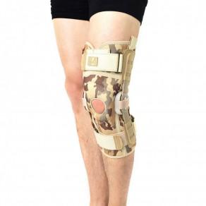 Ортез коленного сустава с полицентричными шинами Reh4Mat 4army-sk-07