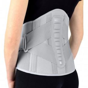 Высокий грудопоясничный бандаж с затягивающими ремнями Reh4Mat Fit Eb-lk-01