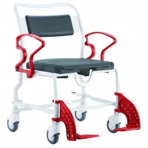 Туалетно-душевой стул с 5-ти дюймовыми колесами Rebotec Атланта 361