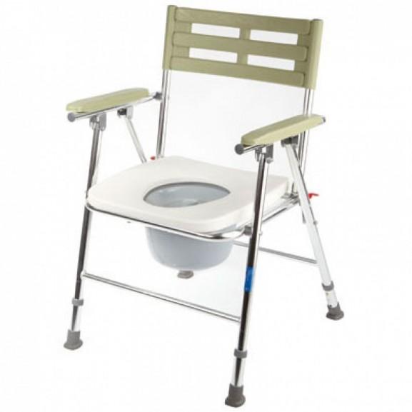 Кресло-туалет складной с широким сиденьем Симс-2 Wc Xxl