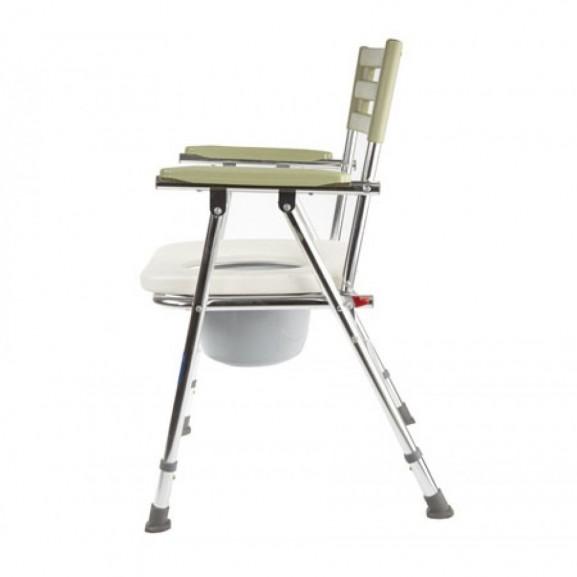 Кресло-туалет складной с широким сиденьем Симс-2 Wc Xxl - фото №4