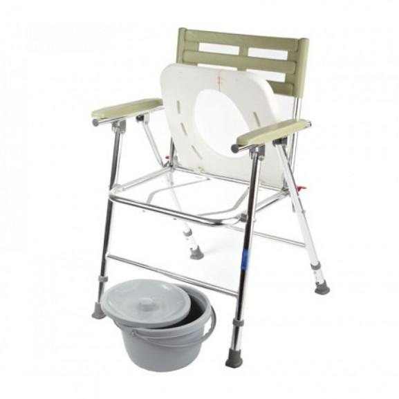 Кресло-туалет складной с широким сиденьем Симс-2 Wc Xxl - фото №3