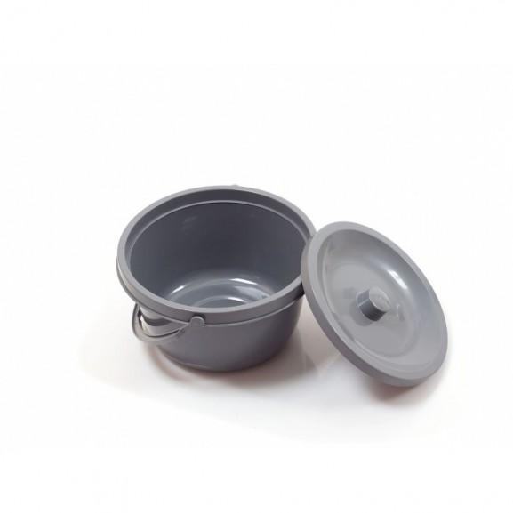 Санитарный стул со складными подлокотниками и колесами Ortonica Tu 8 - фото №9