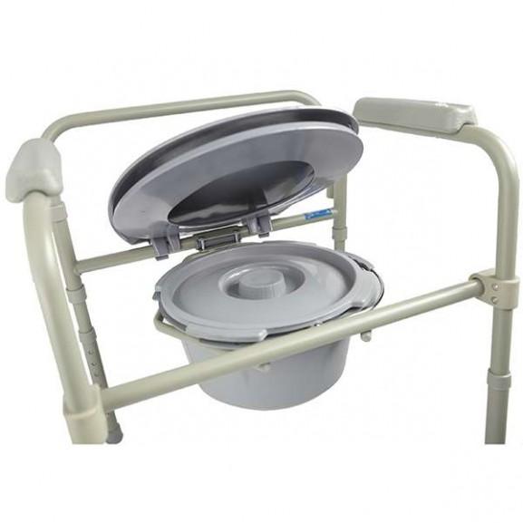 Кресло-стул с санитарным оснащением для инвалидов Симс-2 10580 - фото №2