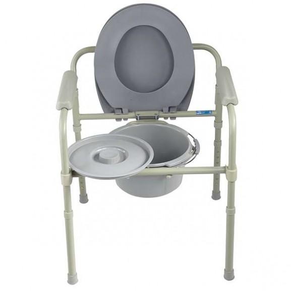 Кресло-стул с санитарным оснащением для инвалидов Симс-2 10580 - фото №1