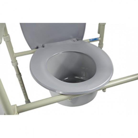 Кресло-стул с санитарным оснащением для инвалидов Симс-2 10580 - фото №4