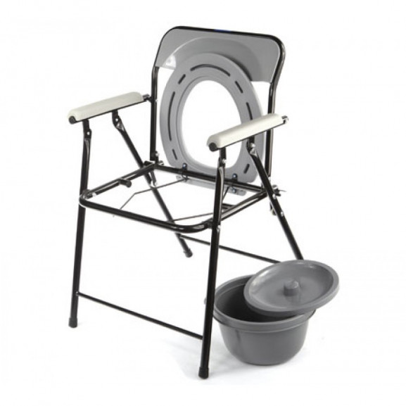 Кресло-туалет складной нерегулируемый по высоте Симс-2 Wc efix - фото №3