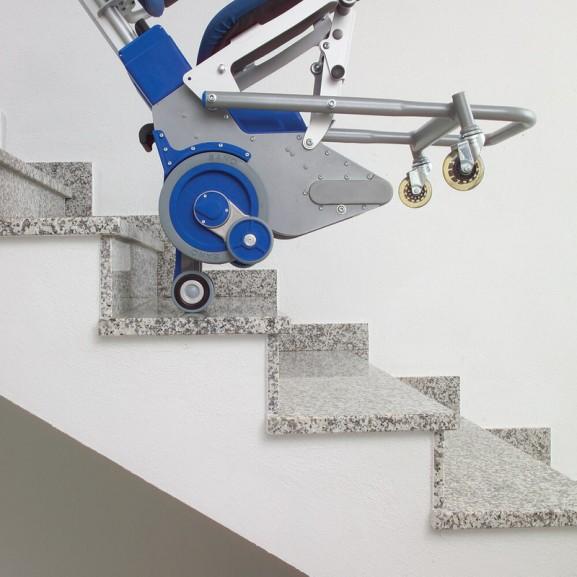 Лестничный колесный подъемник Sano Transportgeraete Gmbh Pt Uni 160 - фото №2