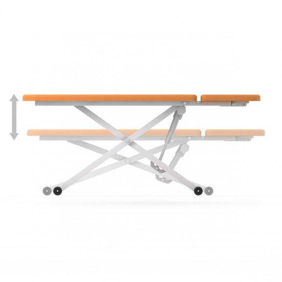 Стол для кинезотерапии двухсекционный с электроприводом Конмет Холдинг Balance Сн-52.04.03 - фото №2