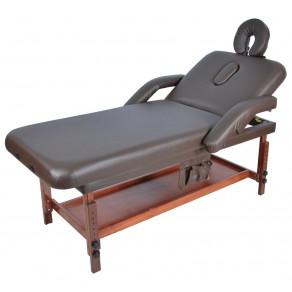 Стационарный массажный стол деревянный Мед-Мос Fix-1a (мст-7л)