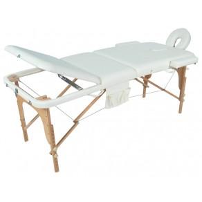 Массажный стол складной деревянный Мед-Мос Jf-ay01 3-х секционный М/к (Мст-103л)