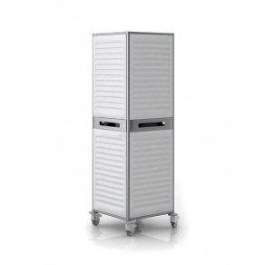 Шкаф для одежды передвижной палатный Конмет Холдинг М-вох Сн-400.50.02