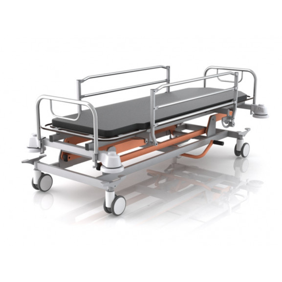 Каталка для перевозки пациентов гидравлическая Конмет Холдинг Кп 4.04 Г - фото №1