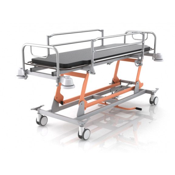 Каталка для перевозки пациентов гидравлическая Конмет Холдинг Кп 4.04 Г - фото №2