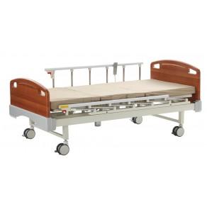 Кровать электрическая с деревянными спинками Медицинофф Fa-2